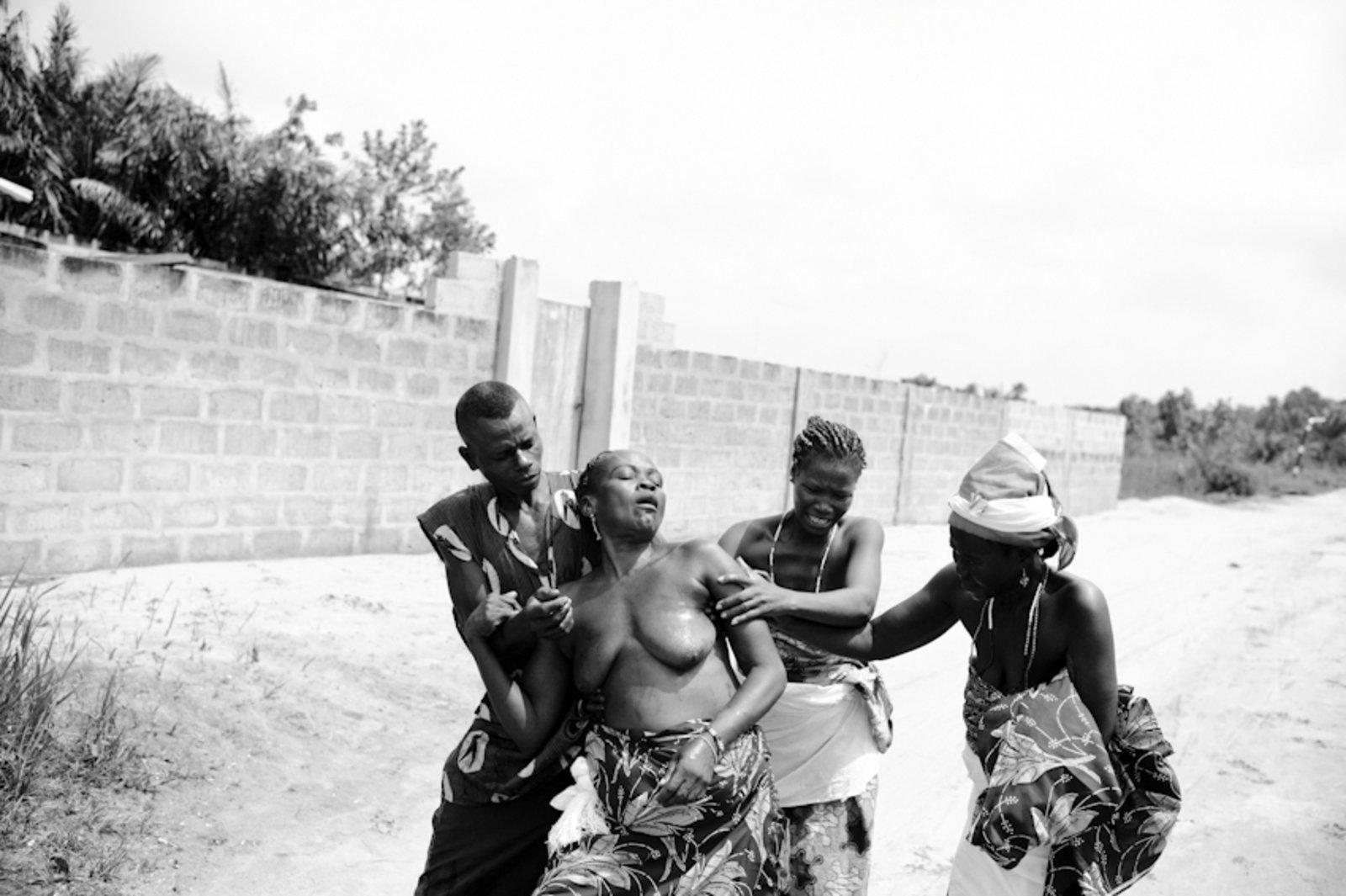 Young female human sacrifice nude movie